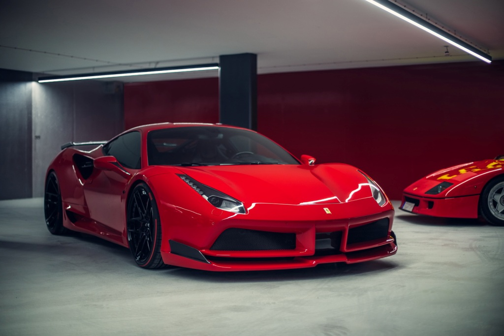 NOVITEC N-LARGO Ferrari 488 GTB And 488 Spider