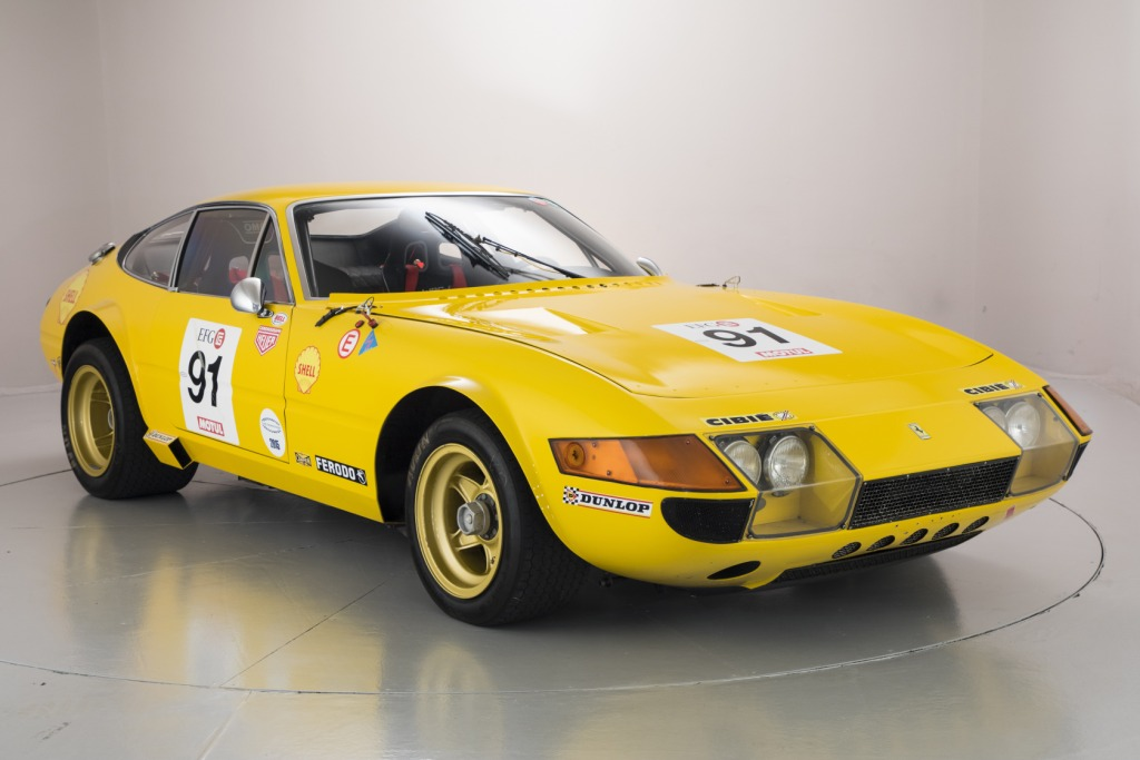 Race Ready Ferrari 365 GTB/4 Up For Sale