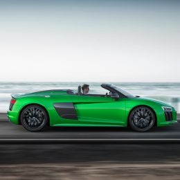 The Audi R8 Spyder V10 Plus