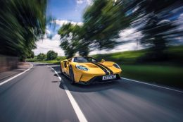 Ford GT Delivers Ultimate Race Car For The Road Supported By 50 Sensors and 25 Computers