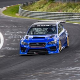 Subaru WRX STI Type RA NBR Special Sets Sub-Seven Minute Lap
