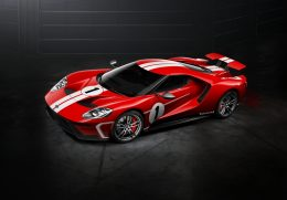Ford GT '67 Heritage Edition with 1967 Le Mans Winner Livery