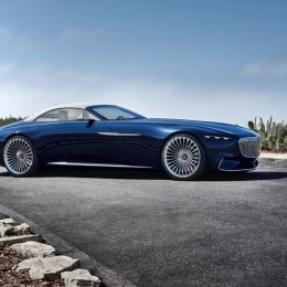 The Vision Mercedes-Maybach 6 Cabriolet