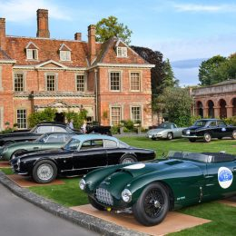 The world's rarest cars warm up for Concours of Elegance 2017