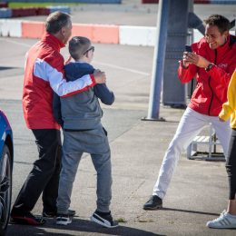 8th annual Ferrari North Europe charity event with Rays of Sunshine and Ben