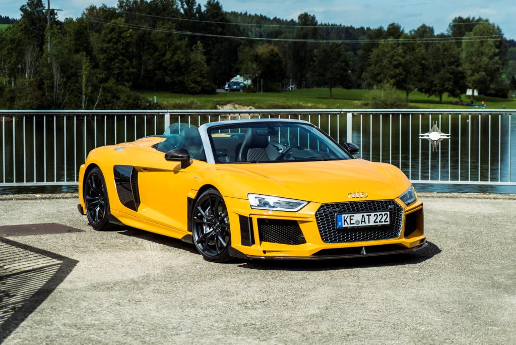 ABT Audi R8 Spyder and Coupé STREET and RACE kit