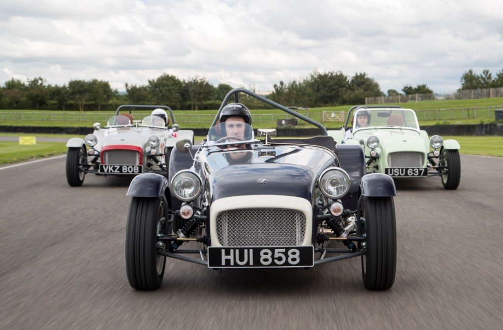 Caterham launches limited edition retro racer - the Seven Supersprint