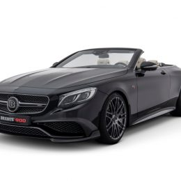 Introducing The BRABUS ROCKET 900 Cabrio based on the Mercedes S 65