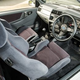 1988 Ford Sierra Cosworth RS500 interior