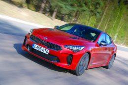 Kia Stinger Gran Turismo RWD to hit UK roads