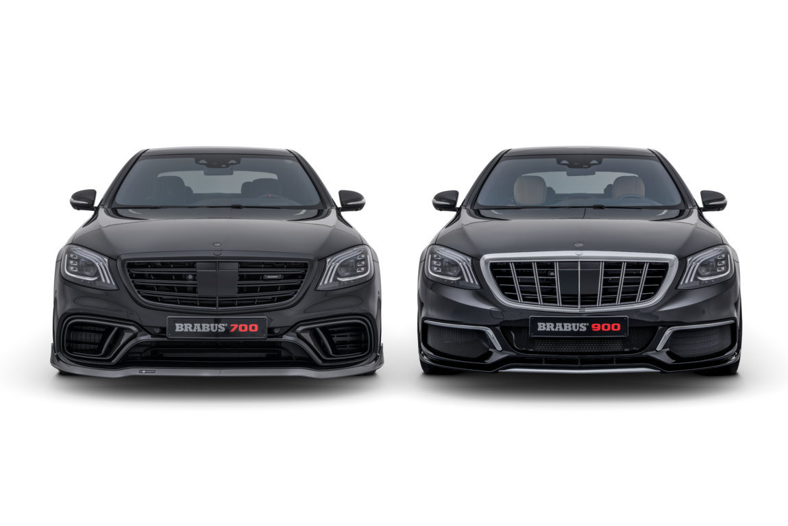 BRABUS Mercedes S 63 4MATIC and Mercedes-Maybach S 650