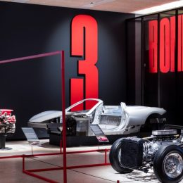 Ferrari Under the Skin now open at the Design Museum