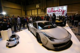 Liberty Walk Ford Mustang and Aventador coming to the Performance Car Show