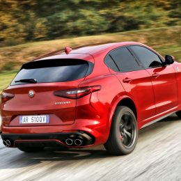 New Alfa Romeo Stelvio Quadrifoglio