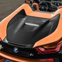 The new BMW i8 Roadster
