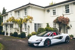 McLaren Special Operations creates a new colour 'Muriwai White'