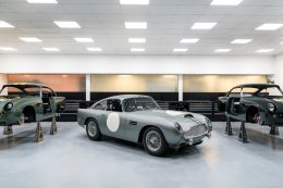Production officially returns to Aston Martin's historic Newport Pagnell site