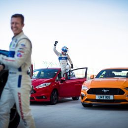 Dirk Muller with the Fiesta ST