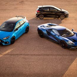 Fiesta ST meets Focus RS and Ford GT