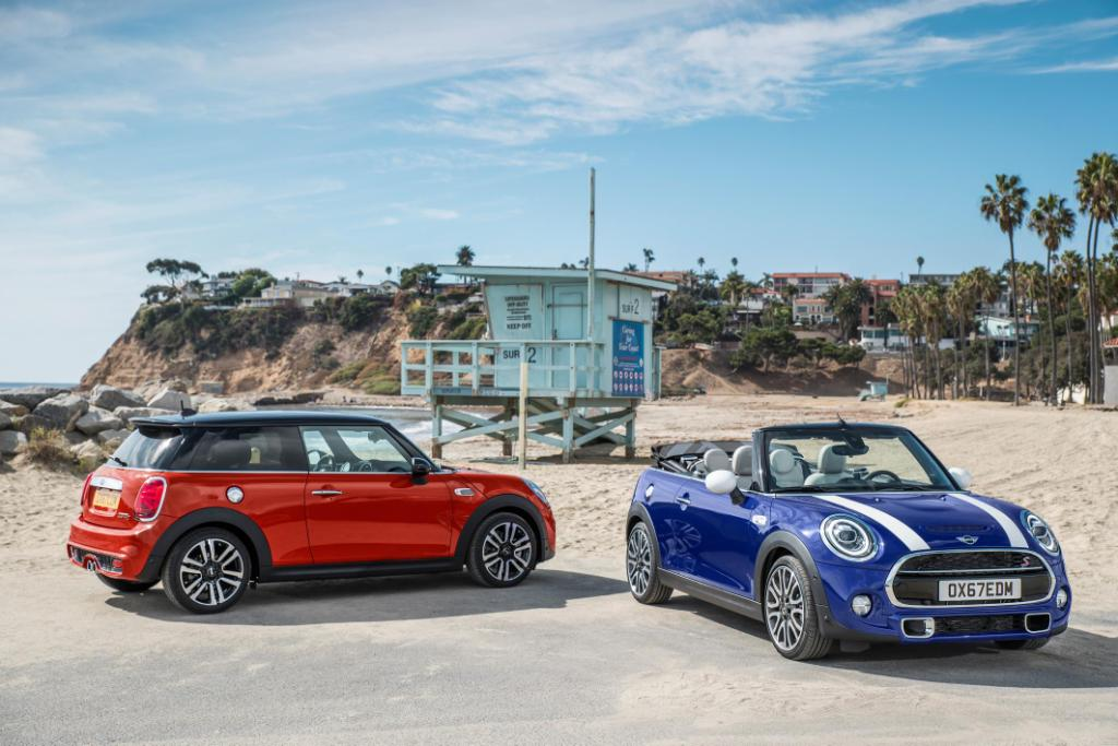 Introducing the new 2018 MINI hatchback and convertible