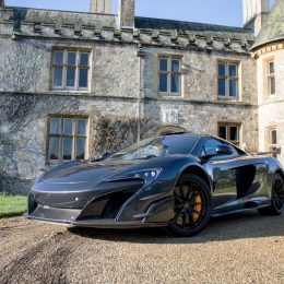 McLaren supercar roars in as new Beaulieu exhibit