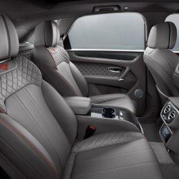 The Bentley Bentayga V8