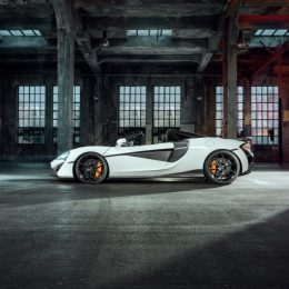 The McLaren 570S Spider refined by NOVITEC