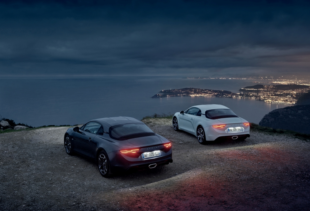 A110 Legende and A110 Pure