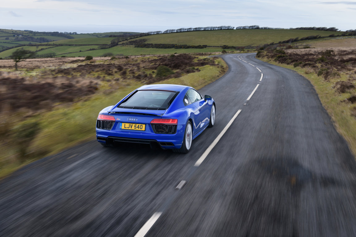 AUDI sport takes a new turn with the R8 V10 RWS