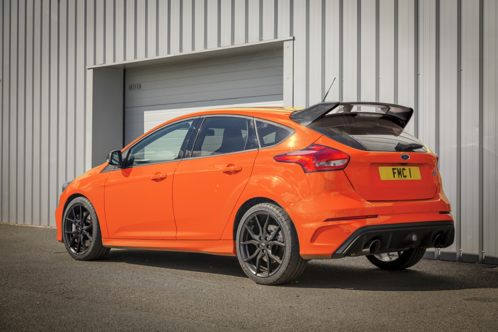 Ford Focus RS bows out with just 50 examples of Heritage Edition for UK market