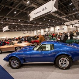 Classic Corvette Club at the London Classic Car Show