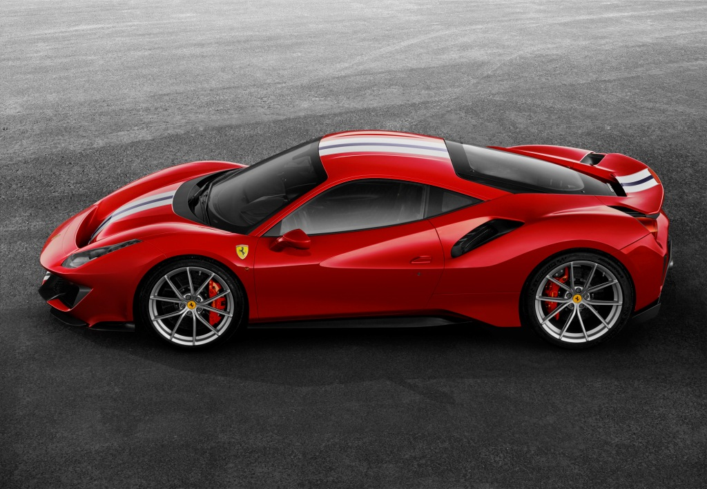 Ferrari 488 Pista A Track Derived Combination Of