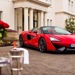 McLaren 570S Spider is ready in red for true romance on Saint Valentine's day