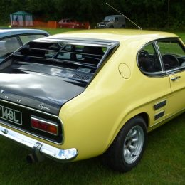 Rare Capri Perana V8 will be on show in Car Club Square