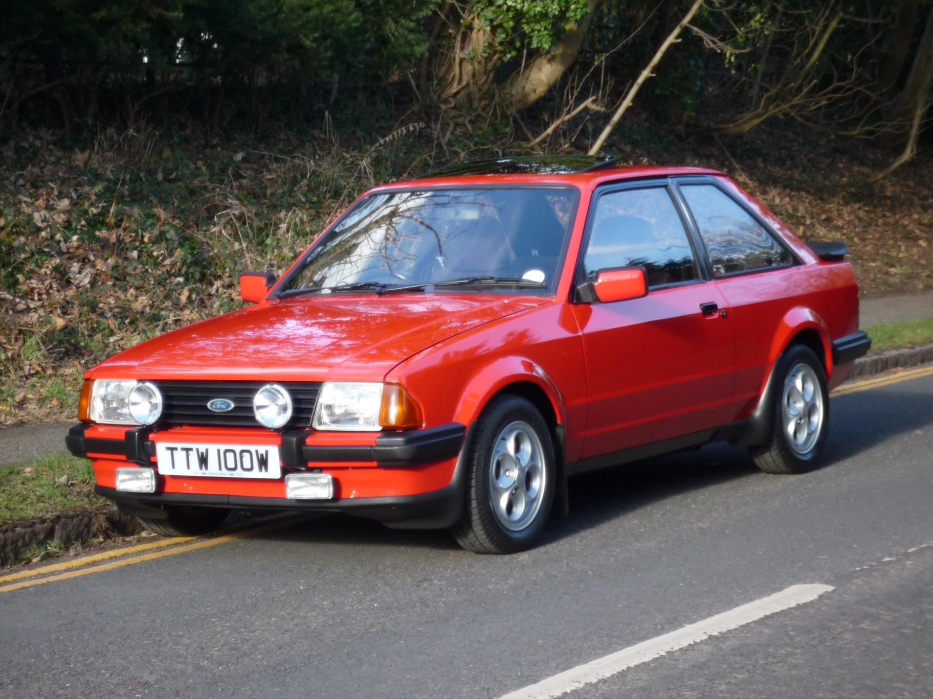 XR3 amongst rarities at Barons' Classic Winter Warme