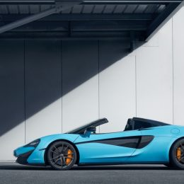 The McLaren 570S Spider Track Pack