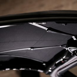 The Pagani Huayra Roadster gets sophisticated materials for its soft top