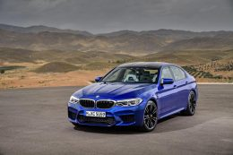 The new BMW M5 Saloon