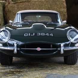 Ultra-rare Series 1 Jaguar E-Type 4.2 goes on sale after return Home From USA