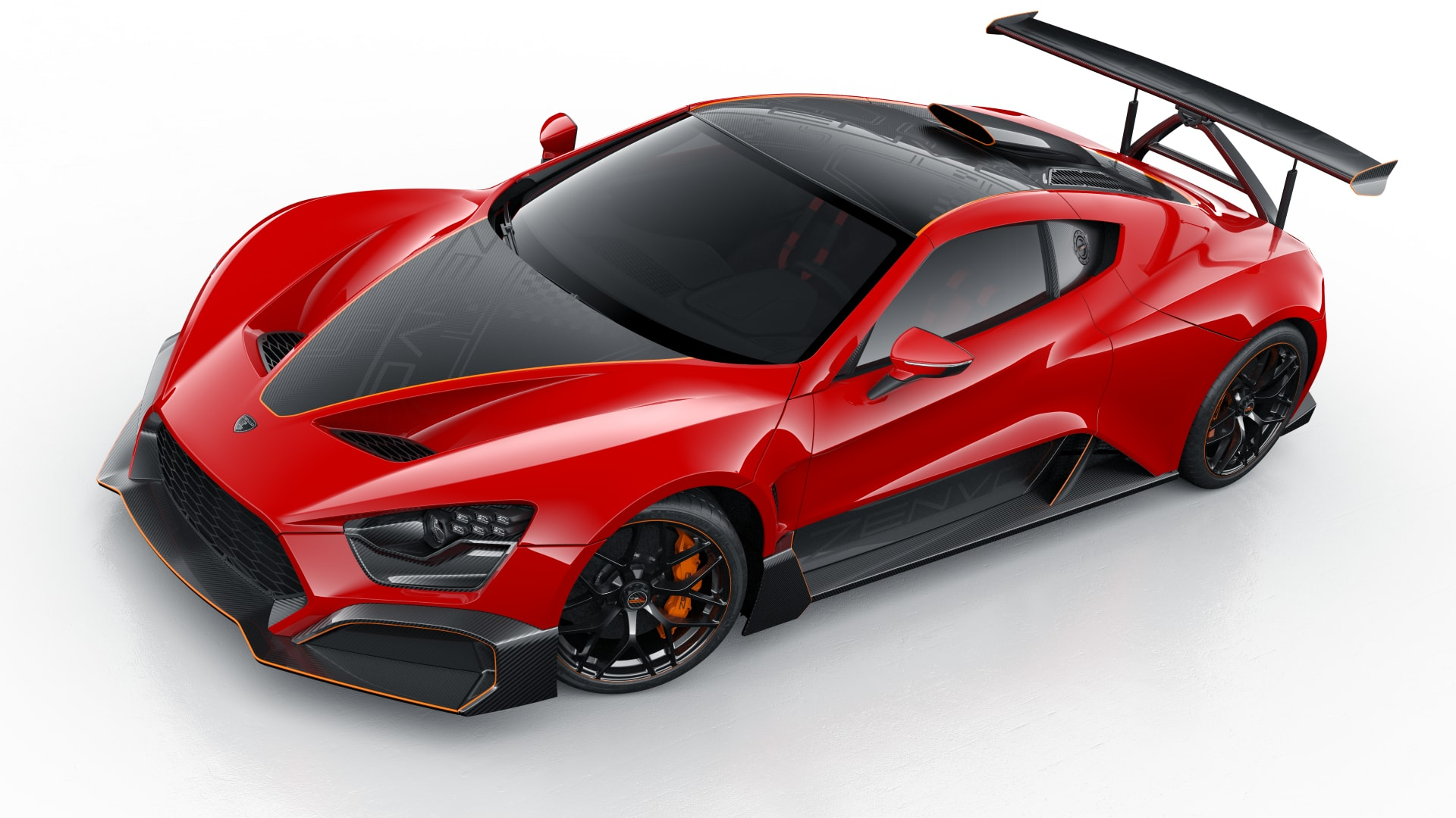 Zenvo presents the world debut of the Zenvo TSR-S