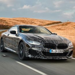 The new BMW 8 Series Coupe