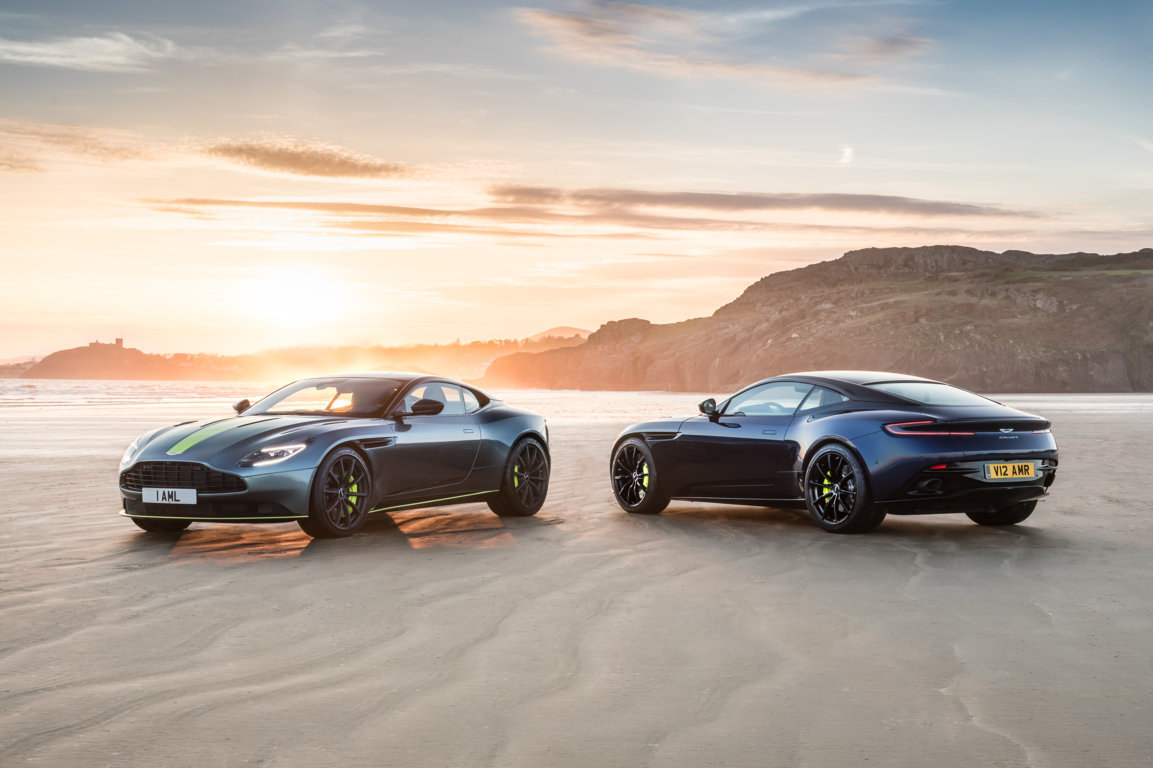 DB11 AMR Aston Martin's new performance flagship