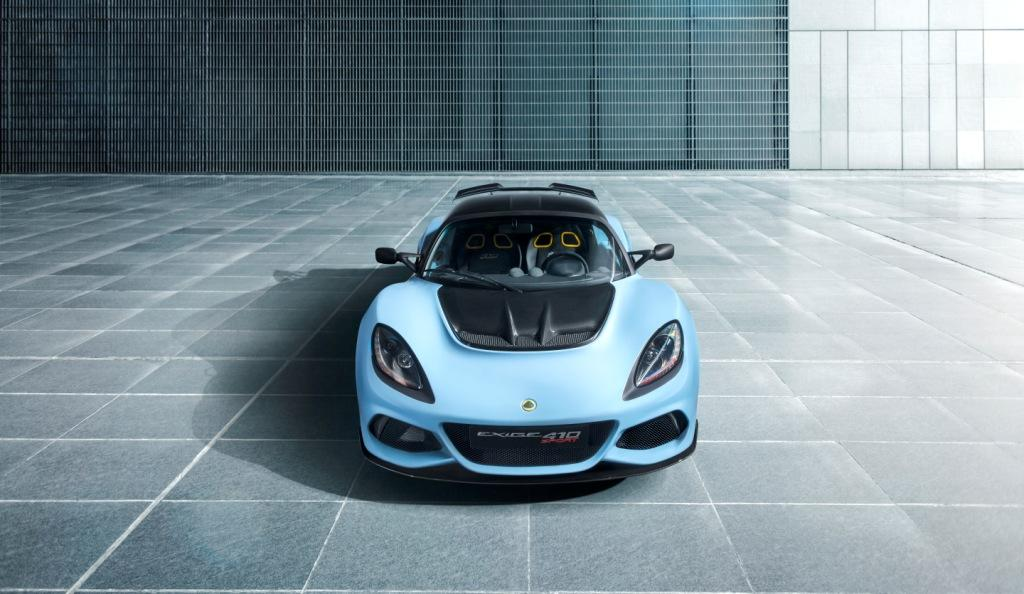 Introducing the new Lotus Exige Sport 410