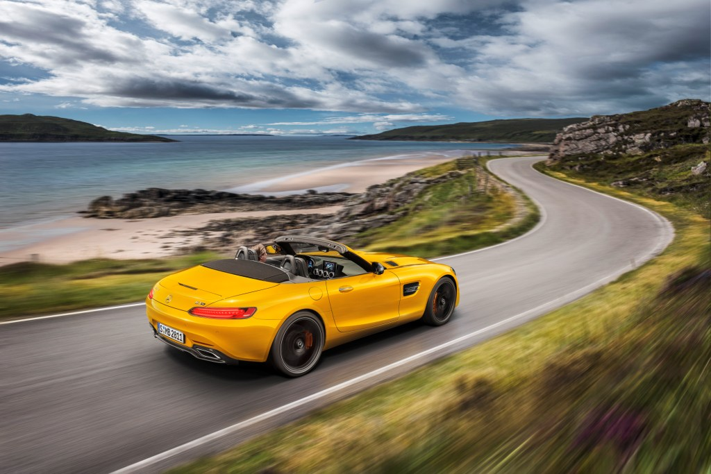 Order books open for new AMG GT S Roadster