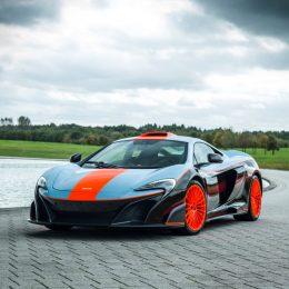 MSO Gulf Racing theme McLaren 675LT