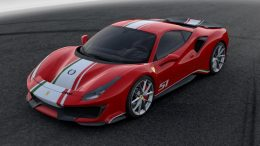 Unique tailor made specification for the Ferrari 488 Pista