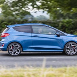 Fiesta ST takes on great european driving road 400 metres underground