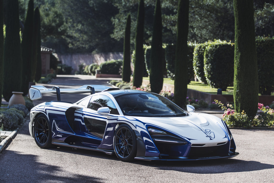 McLaren Senna 001 takes the ultimate road trip