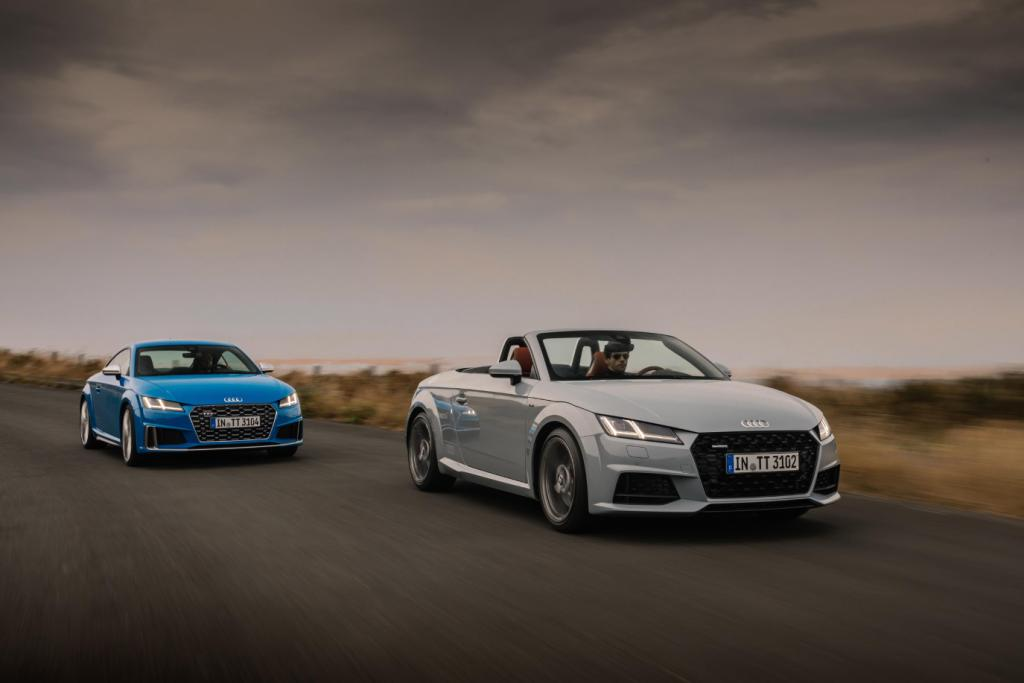 New Audi TT range marks twenty years milestone anniversary