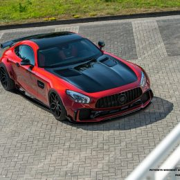 Prior Design wide body kit for the AMG GT